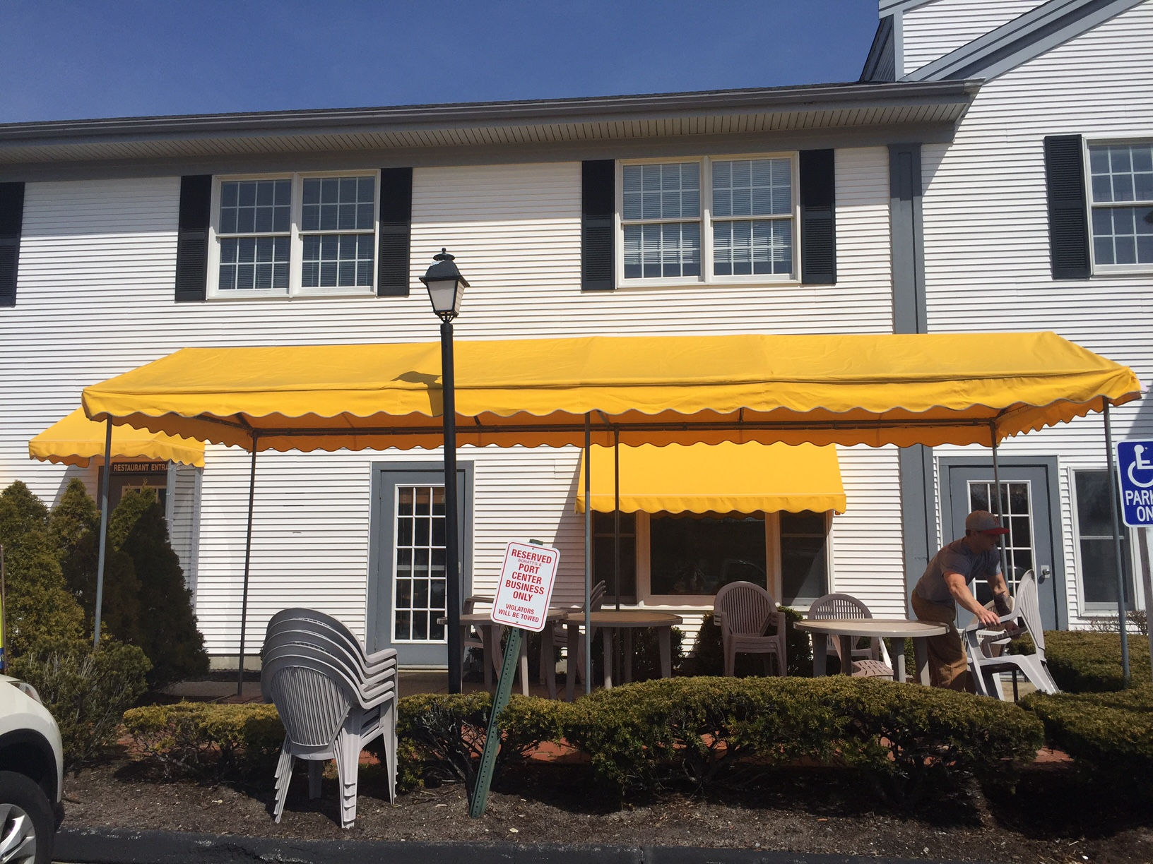 Awnings Cape Cod Retractable Inc Commercial Awnings